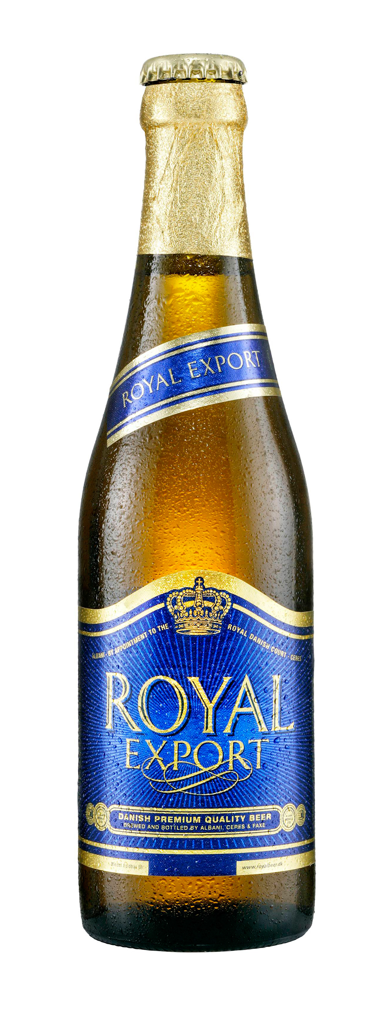 Kølig royal export pilsner